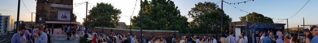 Peckham roof top bar