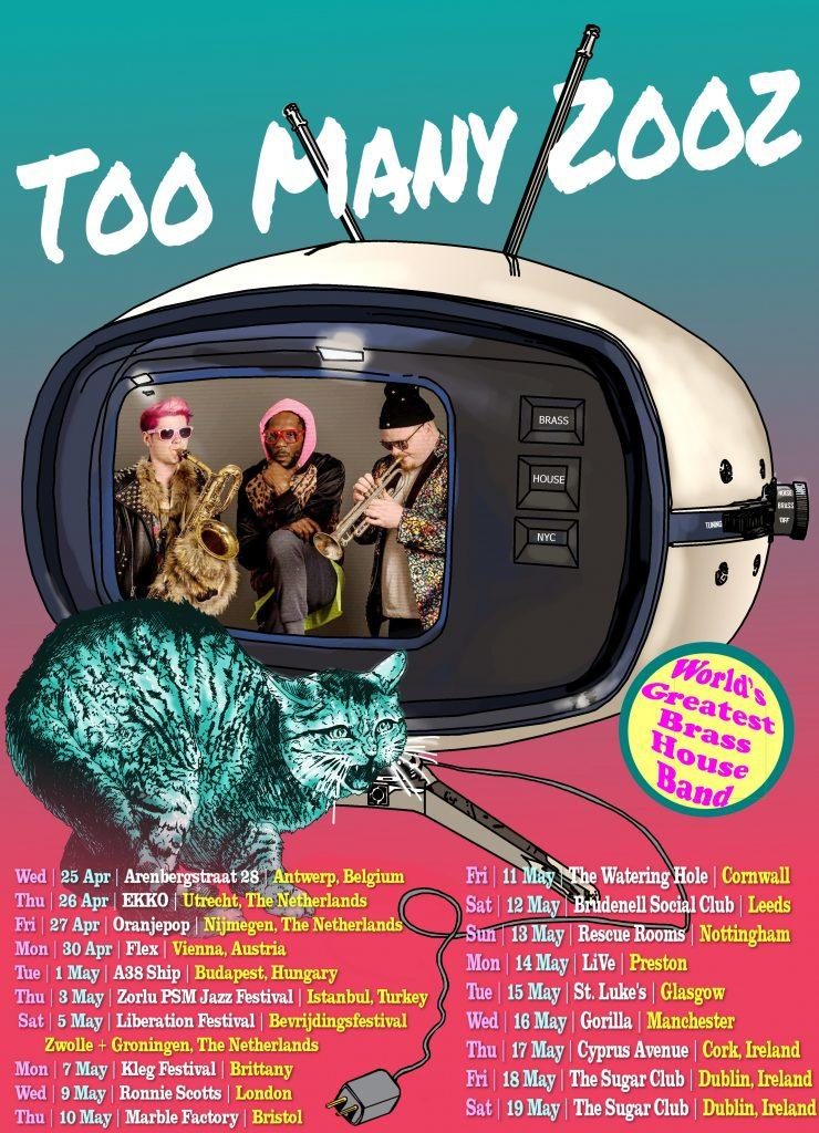 New York Subway Sensation 'Too Many Zooz' to Tube it in London 27