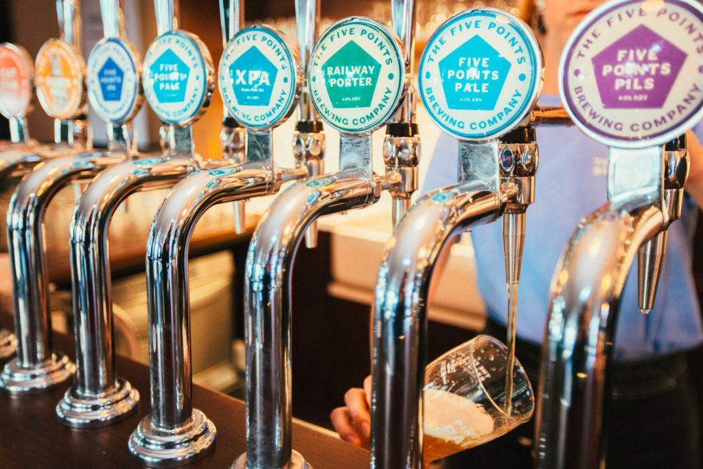 five points beer