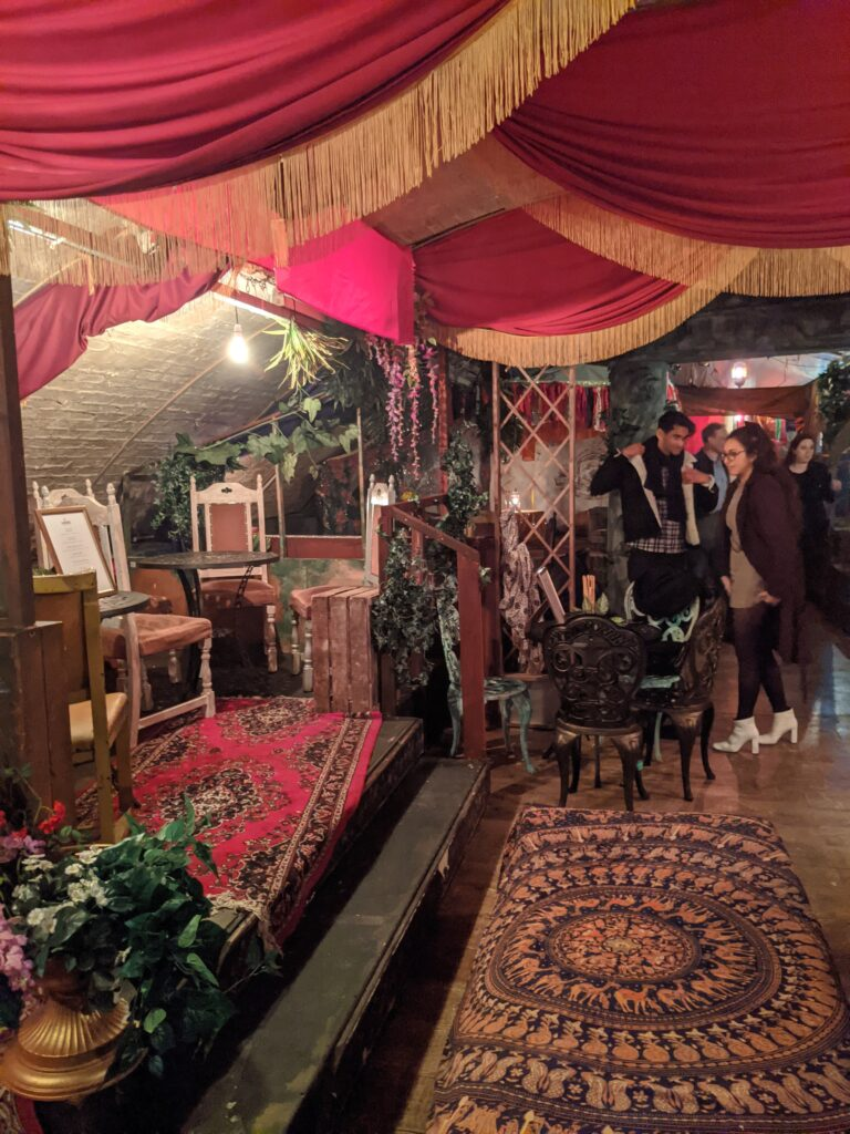 The Rose Bar at VAULT festival - A rose flavoured trip through time 31